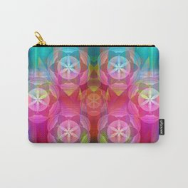 Flowers of Life Carry-All Pouch