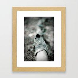Shedding Framed Art Print