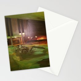 ghost bikes Stationery Cards