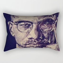 Malcolm X Rectangular Pillow