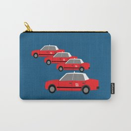 Red Taxi Carry-All Pouch