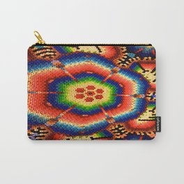Native American beaded artwork Carry-All Pouch