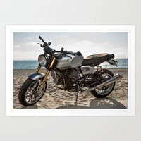 ducati Art Prints featuring Ducati 001 by Austin Winchell