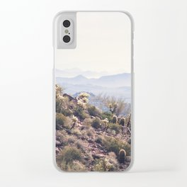 Superstition Wilderness Clear iPhone Case