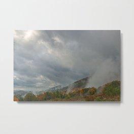 Dolly Sods Mountain Fog Metal Print