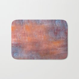 Orange Color Fog Bath Mat