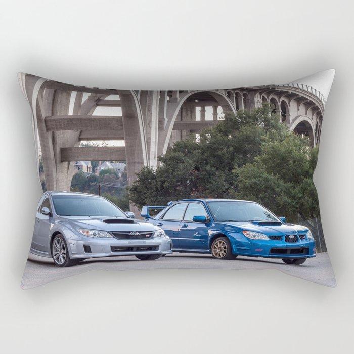 2012 2007 STI Rectangular Pillow