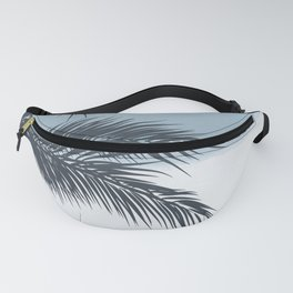 Palm and Ocean Fanny Pack