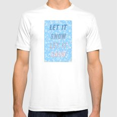 Let it snow, let it snow - A Hell Songbook Edition Mens Fitted Tee MEDIUM White
