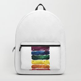 awesome rainbow watercolor Backpack
