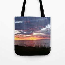 Painted Skies at Sunset Tote Bag