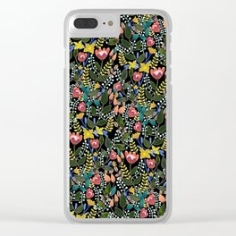 Magical Forest Clear iPhone Case