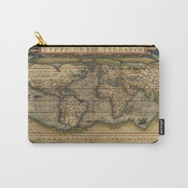 Antique Map of North and South America Carry-All Pouch