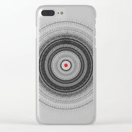 The dot Clear iPhone Case