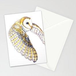 Milo - Australian Masked Barn Owl Stationery Cards