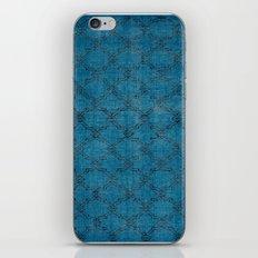 Overdyed Rug 1 Aqua iPhone & iPod Skin