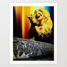 Midnight Radio - Hedwig and the Angry Inch Art Print