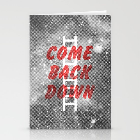 Come Back Down. Stationery Cards