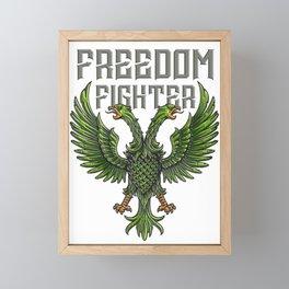 Freedom Fighter Framed Mini Art Print