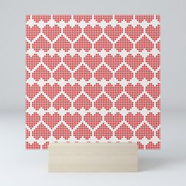 Love Pattern Mini Art Print