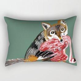 Serengeti Wolf Rectangular Pillow