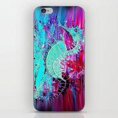 Seahorse Skeleton iPhone & iPod Skin