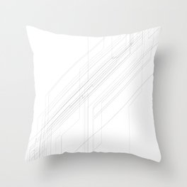 Open Arcana: Lines of Convergence Throw Pillow