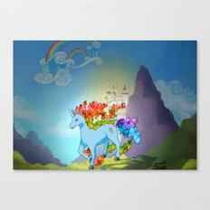 Rainidash Canvas Print