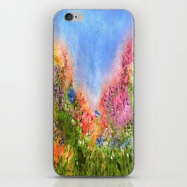 A Summer Meadow iPhone Skin