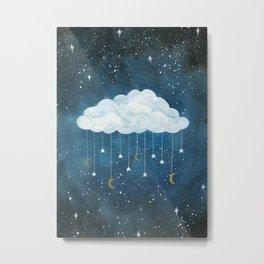 Dreams made of Moon and Stars Metal Print