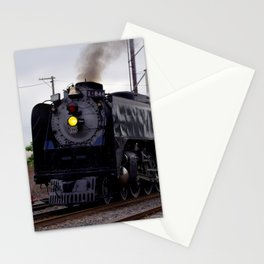 Steam Engine Stationery Cards