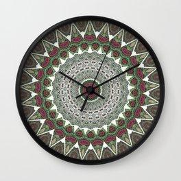 Resurrect Mandala 4 Wall Clock