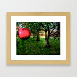 'Apple in the Orchard' Framed Art Print