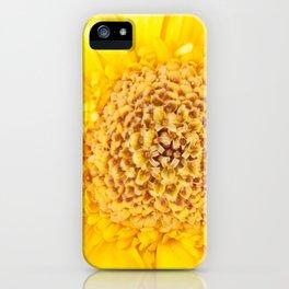Sunny Summer Love - Yellow Gerbera #1 #decor #art #society6 iPhone Case