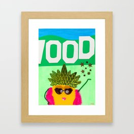 Hollywood Starfruit Framed Art Print