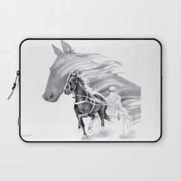 Trotting Up A Storm Laptop Sleeve