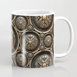 Antique Armor Pattern Coffee Mug