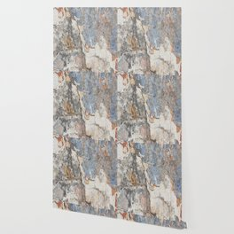 Flaking Weathered Wall rustic decor Wallpaper