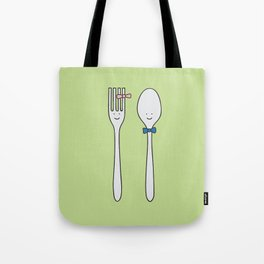 we were made for each other Tote Bag