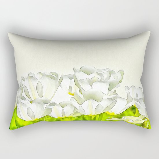 Spring's beauties Rectangular Pillow