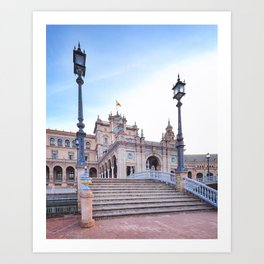 Plaza de España, Sevilla, Spain 5 Art Print