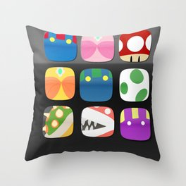 video game apps Throw Pillow