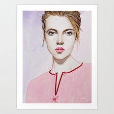 Close Up 17 Art Print