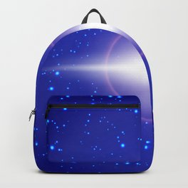 Abstract lights Backpack