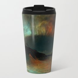 Aurora Borealis by Frederic Edwin Church Travel Mug