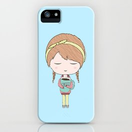 Me In The Morning iPhone Case
