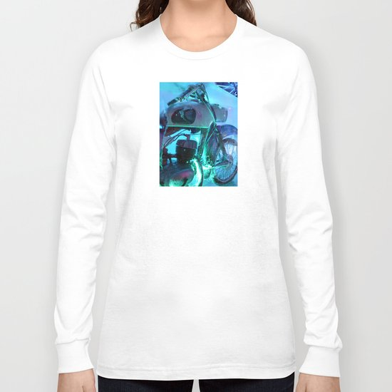 Ice Motorbike 1 Long Sleeve T-shirt