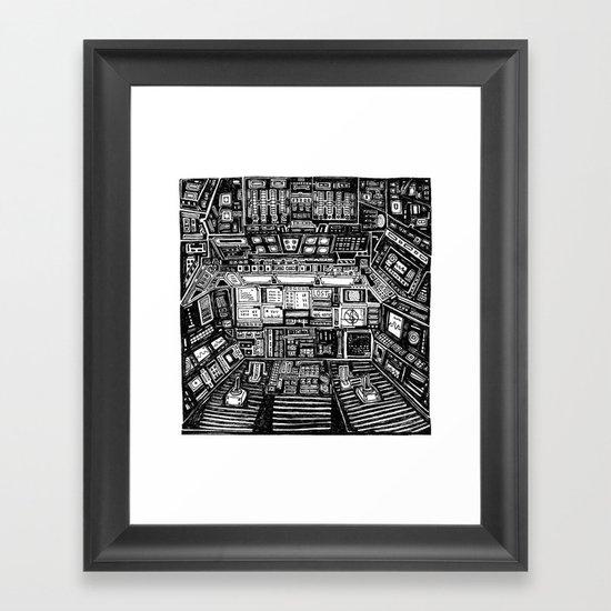 Lost cabin 666 Framed Art Print