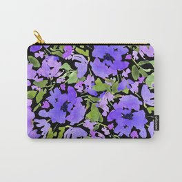 Periwinkle Bouquet Carry-All Pouch