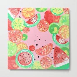 Fruit Crush 3 Metal Print